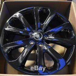 Range Rover L405 Véritable / L494 Style Sport 5002 20inch Noir Roues En Alliage X4