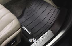 Range Rover Rubber Floor Mats Vplgs0150 New Oem 2013-2017