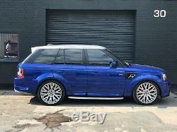 Range Rover Sport 2.7 Tdv6 Hse 2007 Bespoke Low Miles 1 Propriétaire 22 Khan Alliages
