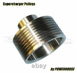 Range Rover Sport 4.2 Superchargeur Poulie Supérieure 10% 2,5lb Upgrade Inox