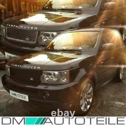Range Rover Sport Front Grille +side Vents Black Gloss 05-10 Autobiography Mod