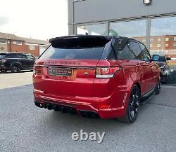 Range Rover Sport L494 2013-2018 Mise À Niveau Dynamique Du Kit Carrosserie Peinte Et Équipée