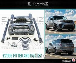 Range Rover Sport L494 2018+ Facelift Pleine Svr Style Body Kit £ 2995 Fit Offre