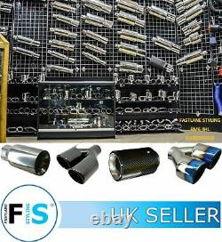 Range Rover Sport L494 Facelift Svr Stainless Steel Exhaust Tips Tail Pipes