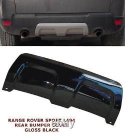 Range Rover Sport L494 Pare-chocs Arrière Panneau De Remorquage Eye Cover 13+ Gloss Black