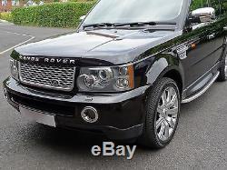 Range Rover Sport Led Noir Feux Arrière Autobiographie Grille Et Ventilations Upgrade Kit