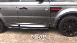 Range Rover Sport Nouveau Furtifs Black Edition Side Steps Marchepieds Avec Sills