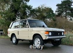 Range Rover Suffix A 1971 -one Owner, Incredible, Unrestored Survivor