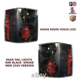 Range Rover Vogue L322 Feu Arrière Groupe De Feux Nouveau 2019 Edition Rouge Noir Fumée