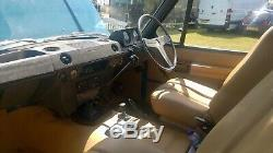 Rare 1971 Suffixe Classic 2 Portes Land Rover Range Rover