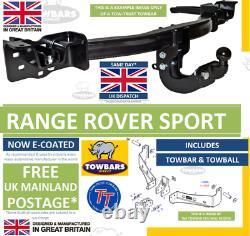 Remorque Pour S'adapter Range Rover Sport 2005 À 2013 (l320) Remorque-trust 3500kg Tl1 Nominale