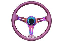 Rose Neo Chrome Ts Aftermarket Volant Sport 350mm 6x70mm