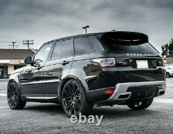Roues 24x10 Rf24 Pour Range Land Rover Hse Sport Supercharge Black 24 Rims Set