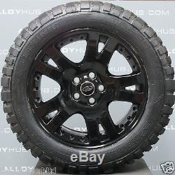 Roues En Alliage Noir 19k Et Boue T De Land Rover Discovery 4/3 19 Pouces Noir