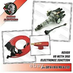 Rover V8 35dlm8 35d Discovery Distributeur 3.9 3.5 & Powermax Red Rotor Arm