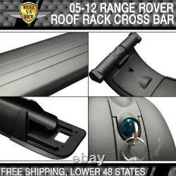 S'adapte 02-12 Land Range Rover Hse Oe Paire Roof Rails & Cross Bars Set
