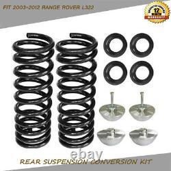 Sac De Suspension D'air Pour Bobine Kit De Conversion De Printemps Fit 2003-2012 Range Rover L322