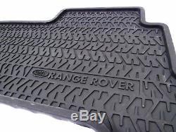 Set De Tapis De Sol Avant Et Arrière D'origine Pour Land Rover Stc8053 Pour Range Rover Classic