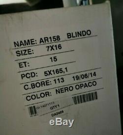 Set Of 4 Land Rover Defender 16 X 7 Maxxtrac Blindo Noir Roues En Alliage