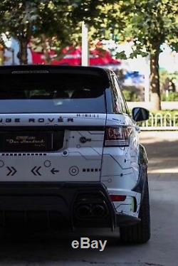Spoiler De Pare-chocs Avant Kit De Carrosserie Large Land Rover Range Rover Sport Asp Style