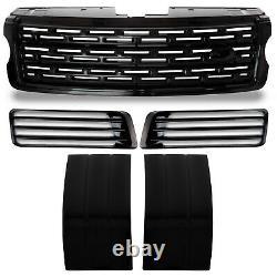 Sva Style Autobiographie Noir Side Grille Purges D'air Conduits Pour Range Rover L405