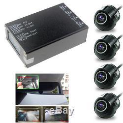 System Monitor 360 Vue Voiture Aide Au Stationnement Panoramique Caméra Arrière