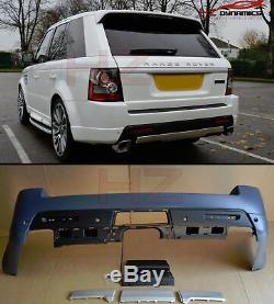 Type Autobiographie Pare-chocs Arrière Fits Range Rover Sport 2010 2013 En Plastique Pp Uk