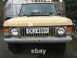 Van Body Range Rover Classic. Châssis Galvanisé Rare 3 Portes