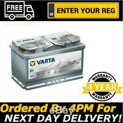 Varta F21 Argent Dynamique Agm Batterie De Voiture