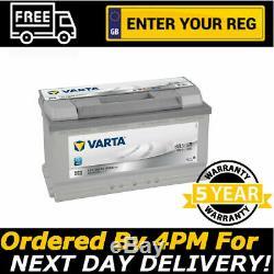 Varta H3 Argent 019 100ah Batterie Voiture Mercedes Slk Van Sprinter Viano Etc.