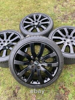 Véritable 4 X Range Rover Sport Vw Transporter T6 T5 Alloy Wheels Tyres Sportline
