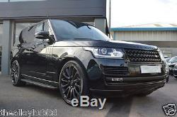 Véritable Jante En Alliage Style X77, Range Rover L405 / 94 Sport, Noir, Emballage Noir