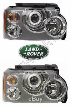 Véritable Land Rover Range Rover 06-09 Gauche Et Droite Halogène Phares Assies