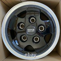 Véritable Land Rover Range Rover Classic Csk Lse 16 5 Spoke Alloy Wheels X4