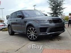 Véritable Noir 21 Land Rover Range Rover Discovery Vogue Sport Jantes En Alliage Svr