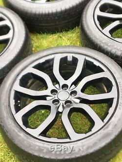 Véritables 20 Land Rover Range Rover Evoque Dynamic Jantes En Alliage Pneus