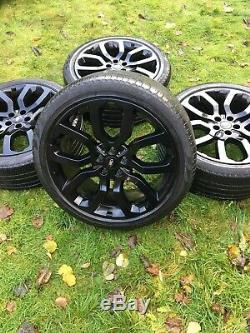 Véritables 22 Range Rover Sport Vogue Découvrez Svr Jantes En Alliage Pneus Pirelli