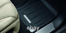 Véritables Land Rover New Range Rover Sport Rubber Footwell Mats (vplws0189)