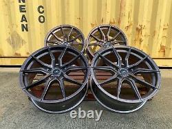 Vw T6 T6.1 Aluwerks Spyder Cc-i CCI 20 Gloss Bronze Load Rated Alloy Wheels