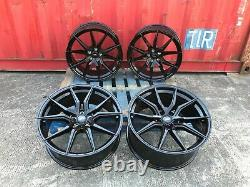 X4 22 Mercedes Aluwerks Spyd Gle63 Jantes En Alliage De Style Noir ML Gl Gle Gls 5x112