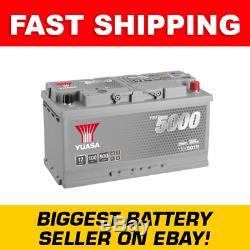 Ybx5019 Yuasa Argent Haute Performance De Batterie De Voiture 12v 100ah Hsb019