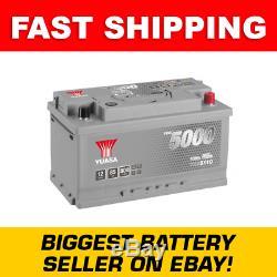 Ybx5110 Yuasa Argent Haute Performance De Batterie De Voiture 12v 85ah Hsb110
