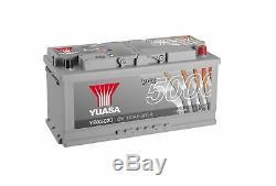 Yuasa Argent Haute Performance Smf Batterie 110ah 900cca Ybx5020 4année Garantie