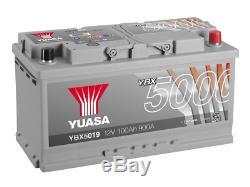 Yuasa Batterie Voiture Ybx5019 Calcium Argent Case Smf Soci 12v 900cca 100ah T1