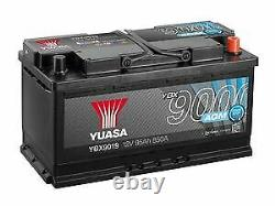 Yuasa Voiture Batterie Ybx9019 Agm Stop Start Plus 12v 850cca 95ah T1 Terminal